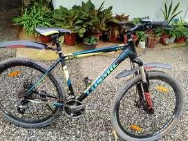 Cosmic bicycle
