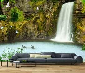 wallpaper premium kualitas terbaik yuk dekorasi dinding rumah anda