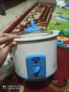 Slow cooker baby safe 1,5 liter