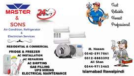 Ac Technician and repairing services