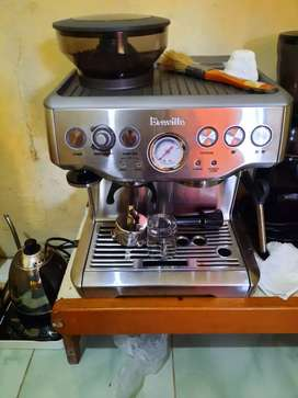 Mesin kopi bekas cafe (mesin breville bes 870)