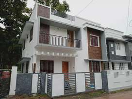 3 bhk 1350 sqft new build Ready to occupy at varapuzha  thathapally