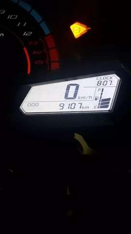 Dijual ninja 250 FI(ABS) 2016 akhir.harga nego santai