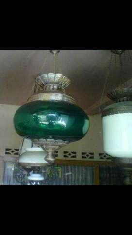 Lampu gantung hias jawa klasik antik deorasi perumahan adat klasik