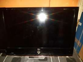 Tv LCD 37Inci plus Braket Seken