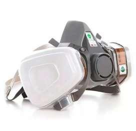 Masker gas respirator model M3 6200