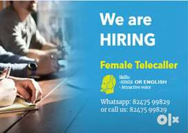 Home based telecaller for Females