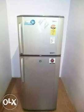 Samsung double door silver colour refrigerator