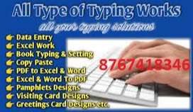 Simple typing job available at your home