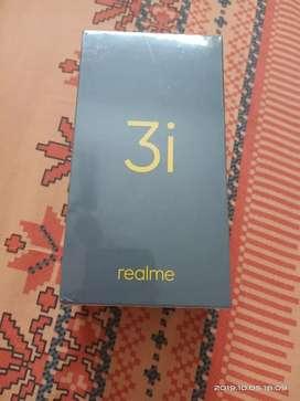 Real me 3I 64 GB 4GB ram Diamond black color