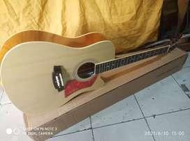 Gitar akustik colclack Siprus pikguard