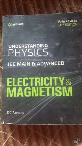 Electricity and magnetism for JEE  main