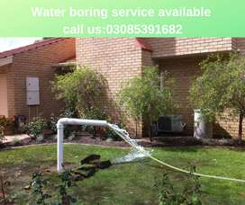 Water Boring Service Available 500 Ft