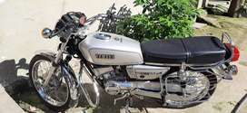 Yamaha RX100 fully modified recently