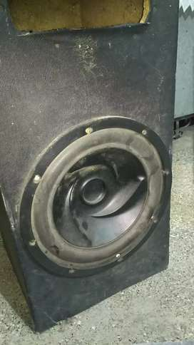 Car woofer with M