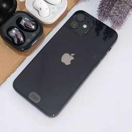 Iphone 12 128gb black garansi tam