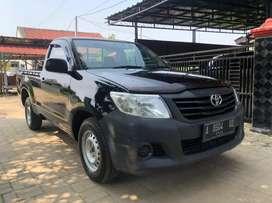 Toyota Hilux single cabin (pickup) M/T 2.5diesel th 2015 hitam KM 75rb