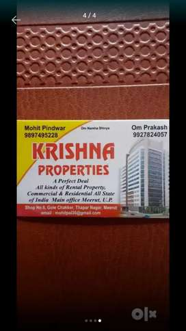 Luxury flat available for rent at tilak road meerut