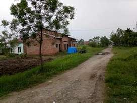Di jual tanah luas 1600 m ukuran 4 rante lokasi tidak banjir