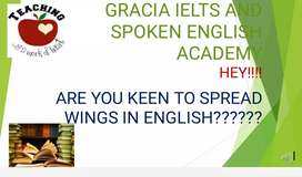 ielts and spoken english online trainer+1 anf +2 commerce training