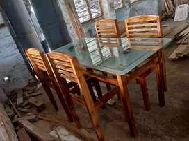 Teak wood new dining table