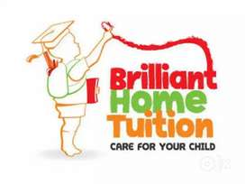 Home tution classes of all subjects from class 1st to 8th