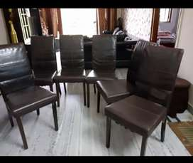 6 CHAIRS in good condition