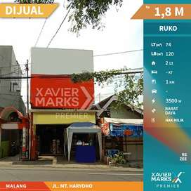Ruko Jalan MT Haryono Lokasi strategis