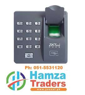 ZKTECO Password + Rfid + Fingerprint Door Access Control System,