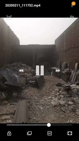 small factory for sale mafi Wala Chonk gujranwala ideal location