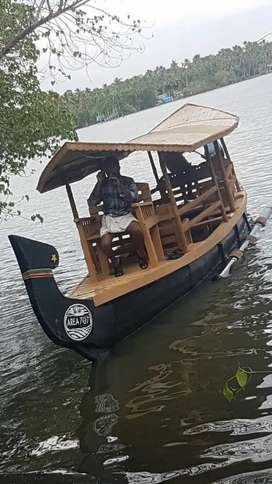 Vanchi Boat with Engine - Distress Sale