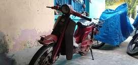 Desi sccoter Bajaj m80 power full pik up