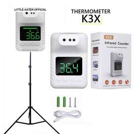 K3X THERMOMETER INFRARED NON CONTACT DENGAN STAND TRIPOD 2 METER