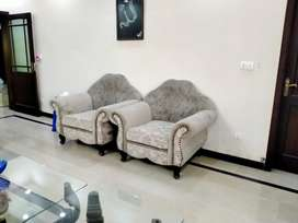 Seven seater sofa set Used for one year
