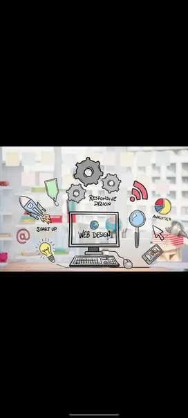 Web designer & digital marketing fresher and experience both apply