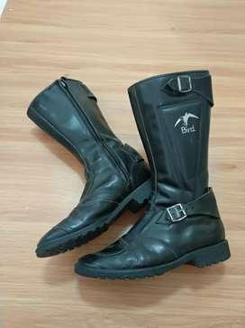 Sepatu boots Bird kulit asli