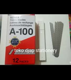 Isi Cutter KENKO kecil A-100 ISI 12 TUBE