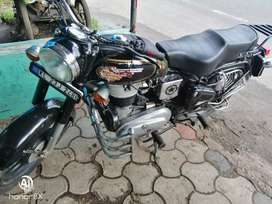 Royal Enfield standard bullet with black colour