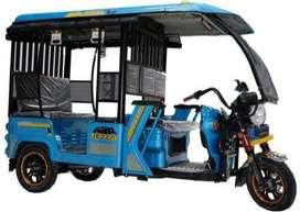 E rickshaw chalane ke liye sampark kren