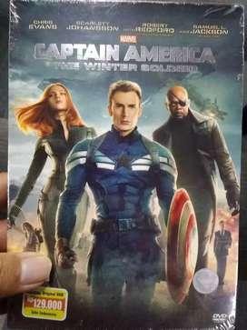 DVD film Captain America judul The Winter Soldier ORI