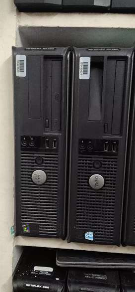 Dell HP dual core 4 gb ram 500 hdd dvd in 2999 only