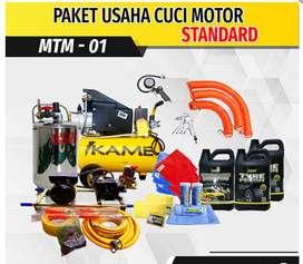 PAKET PERALATAN USAHA CUCI MOTOR STANDART MTM-01