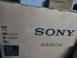 Brand new sony 55inch 4k, android, smart led.