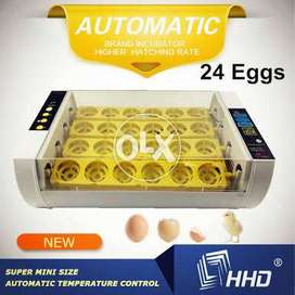 Poultry 24 Egg Turning Incubator-1 Year Warranty-FREE Cash on Delivery