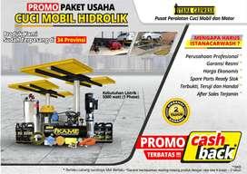 Promo Paket Cuci Mobil 2 Hidrolik Tipe H