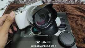 Fujifilm XA2 Second Fullset Putih Kamera Mirrorless