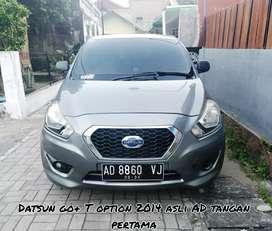Datsun go+ panca Type T option 1.2 M/T 2014 Dp 15 jt ganteng