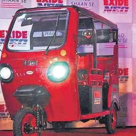 Offer Offer Offer E-Rickshaw On Minimum Down payment