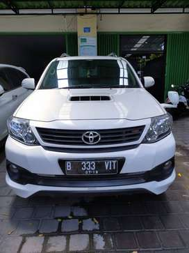 toyota fortuner 2014 G AT TRD