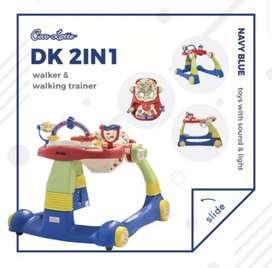 Baby walker cocolatte DK2IN1 Navy blue